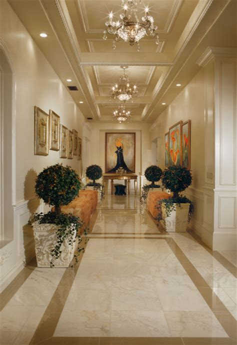 Chic Luxury   Traditional   Hall   Phoenix   by Guided Home Design