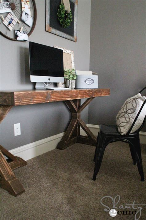 25 Stylish Diy Desks Diy Build A Desk