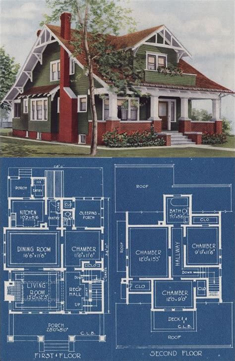 chicago bungalow house plans 17 best images about 1900 1935 bungalow on house plans craftsman and craftsman houses