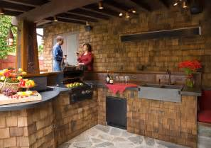 Backyard Kitchen Ideas by Kitchen Design Outdoor Kitchen Design Ideas
