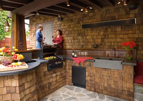 Ideas For Outdoor Kitchens by Kitchen Design Outdoor Kitchen Design Ideas