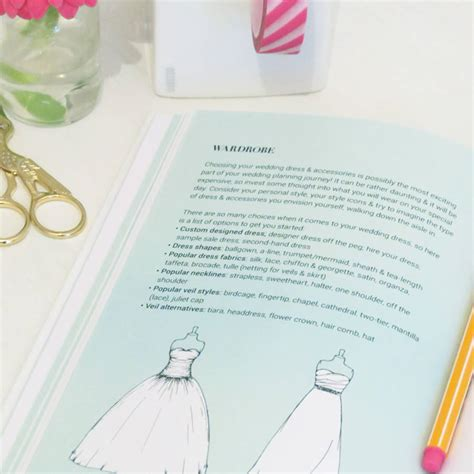 Wedding Planner Guide Book by Wedding Planner Guide Journal And Notebook By Pearl