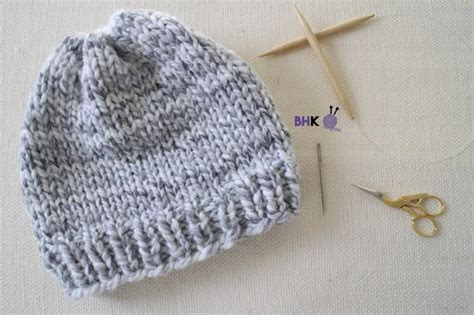 knitting hats for beginners easy knit hat for beginners allfreeknitting