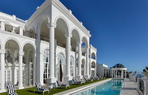 $35 Million Lavish 33,000 Square Foot Mega Mansion In