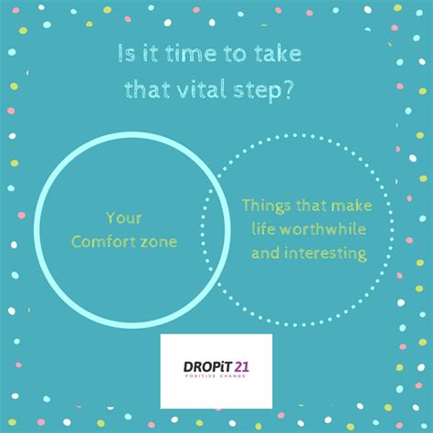 And Comfort Zone by Stepping Outside Of Your Comfort Zone Dropit21