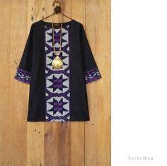 Kebaya Tunic Trendy 2 model baju gamis batik kombinasi terbaru trend baju