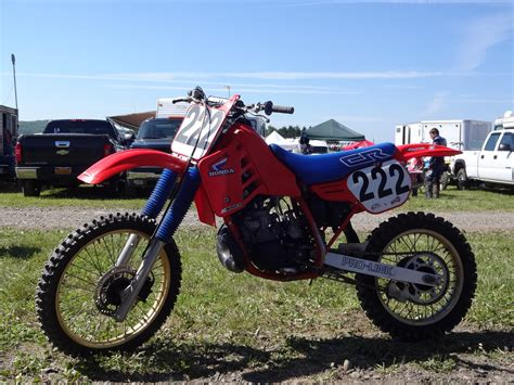 whiteboy rob rob s 1986 cr250 swb white boy 222 s bike check