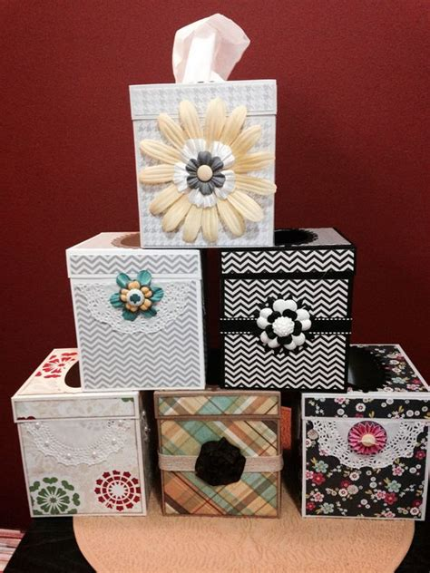 Tissue Paper Box Craft - tissue box covers 3d paper crafts tissue