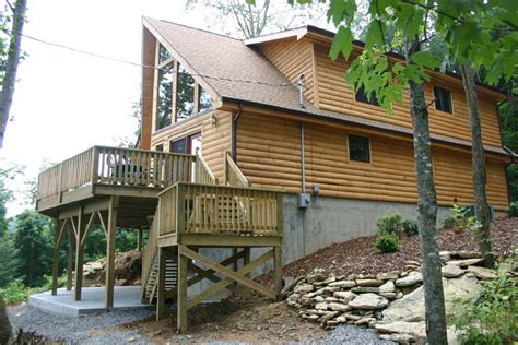 Log Cabin Rentals In Carolina by Vacation Rental Cabin
