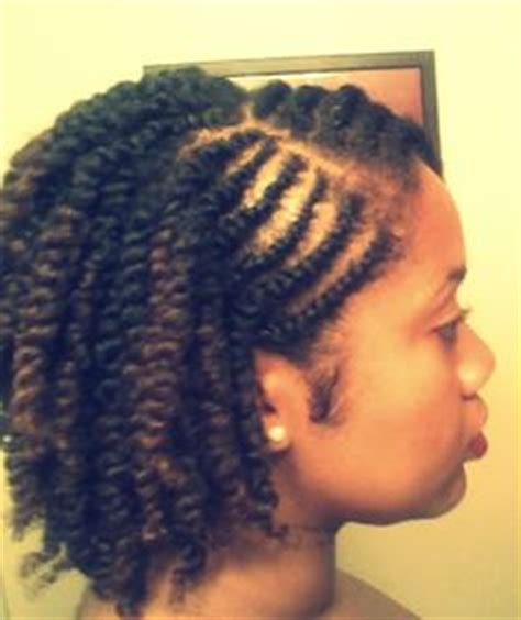 Two Strand Flat Twist Hairstyles by Afro And Cornrows Braided Front W Afro 1 Jpg