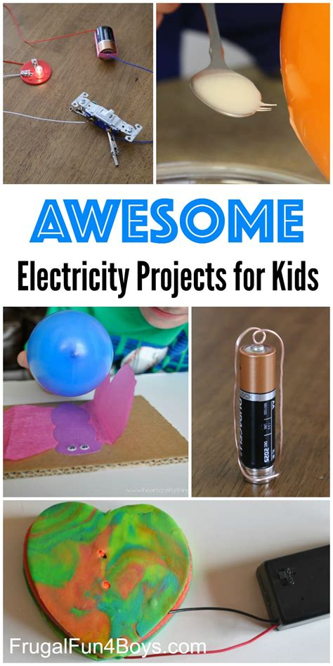 electrical circuits for projects 10 awesome electricity projects for static