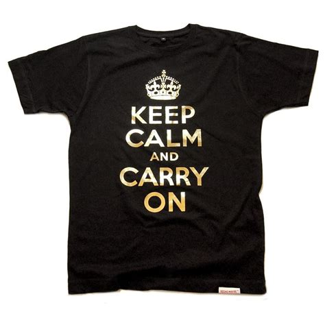 Tshirt Keep Calm Kc Speak quot keep calm and carry on quot s t shirt