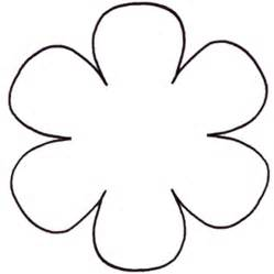 flower templates free free printable flower stencil templates cliparts co