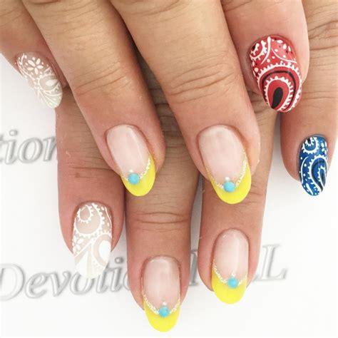 attractive gel nails design design trends premium