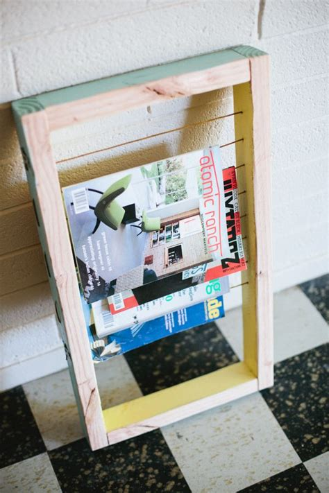 20 diy magazine rack projects style motivation
