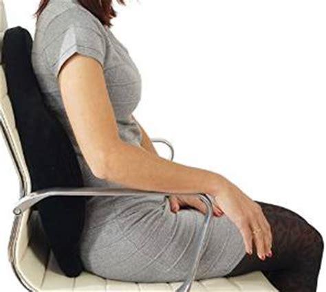 cuscino per la schiena scomodo in ufficio ecco come rendere una sedia confortevole