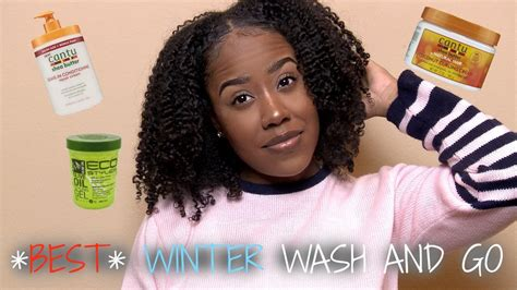 wash and go black hair best winter wash and go routine video black hair