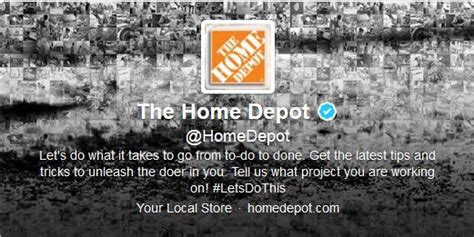home depot apologizes for tweet time
