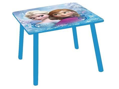 table chambre enfant table enfant disney reine des neiges vente de
