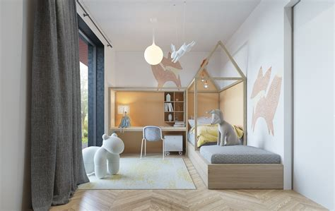 Awesome Bedroom Ideas an awesome kids bedroom ideas with pastel color roohome