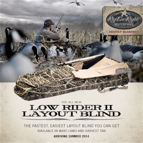 waterfowl hunting layout blinds low rider ii layout blind the fastest and easiest set up
