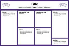 powerpoint poster template 24x36 tcu cis
