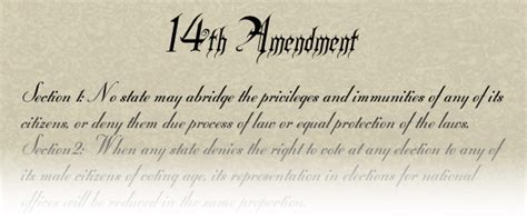 fourteenth amendment section 1 fourteenth amendment section 1 meaning