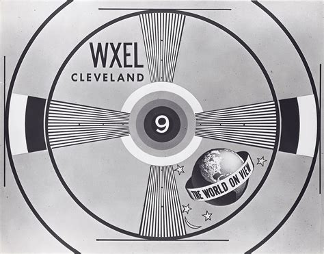test pattern black and white cleveland classic media december 2011