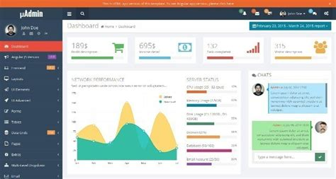 25 Best Responsive Admin Dashboard Templates Webprecis Canvas Lms Page Templates