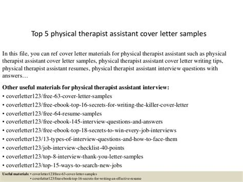 physical therapist aide cover marvelous physical therapy cover