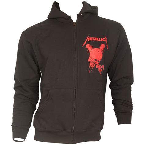 Hoodie Zipper Metalica Cloth metallica zip hoodie no regrets black rocknshop