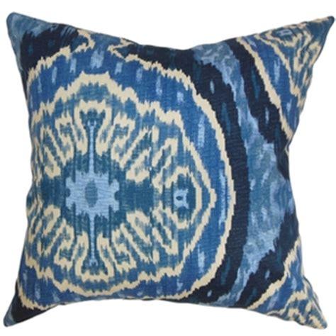 tonic home masala blue linen pillow copy cat chic