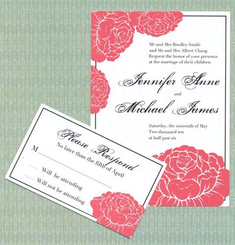 free wedding invitation suite templates free wedding invitation garden invitation