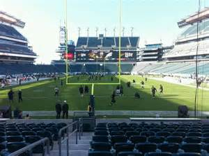 section 110 lincoln financial field lincoln financial field section 111 row 11 seat 32