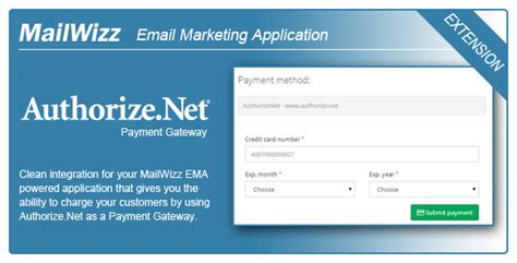 Mailwizz Ema Integration With Authorize Net Nulled Download Mailwizz Email Templates