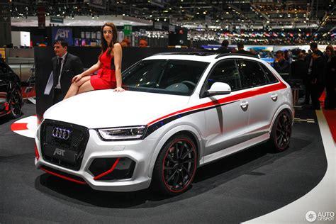 Audi Q3 Rs Abt by Gen 232 Ve 2014 Audi Abt Rs Q3