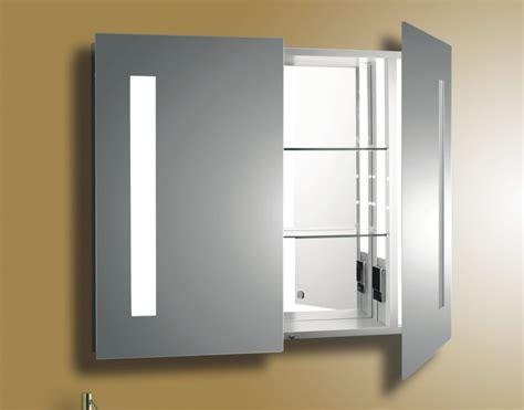 Bathroom Cabinet With Lights And Mirror Bathroom Medicine Cabinets With Mirror And Lights Interesting Ideas For Home
