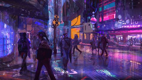 design love fest tokyo cyberpunk city cyberpunk