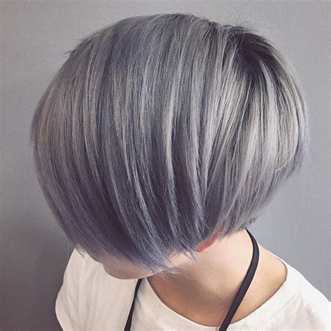 stunning silver hair colors ideas