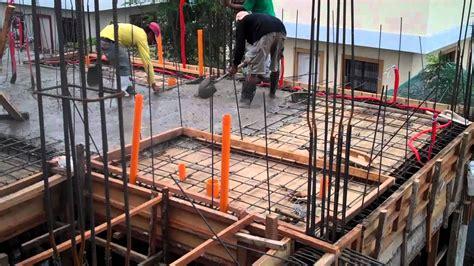 Poured Concrete Homes villa caceres march 30 2012 2nd floor concrete pouring