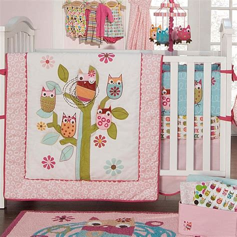 owl baby bedding sets owls 4pc crib bedding set baby owl s pinterest