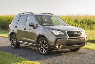 new car ratings and reviews 2017 subaru forester new car review autotrader