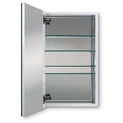 medicine cabinet 15 x 25 metro deluxe 15 in w x 25 in h recessed or surface mount