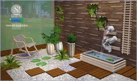 Cars Bedroom Ideas inner garden outdoor set at simcredible designs 4 187 sims