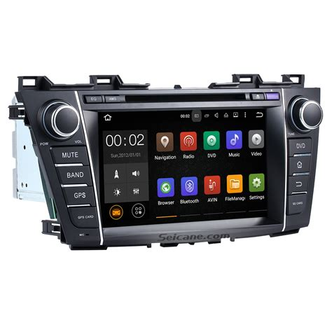 manual repair autos 2012 mazda mazda5 navigation system android 7 1 dvd player bluetooth radio gps navigation stereo for 2009 2012 mazda 5 with tv wifi