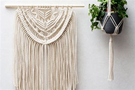 How Do You Macrame - macrame wall hangings plant hangers buy or diy
