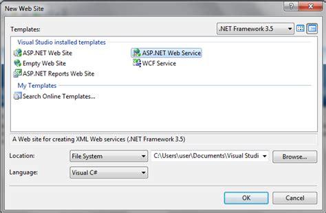 tutorial web service vb net web service exle in asp net using c net asp net c