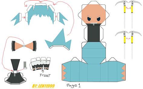 Soul Eater Papercraft - black papercraft page 1 by len11999 on deviantart