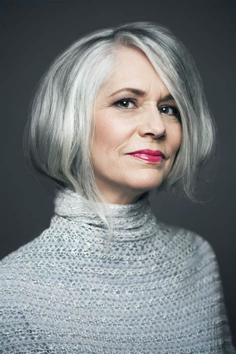 hair color for 58 year old 730 best beauty in gray white or silver images on