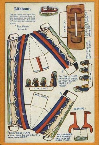 how to make a paper lifeboat 9 best lifeboat images on pinterest paper boats party